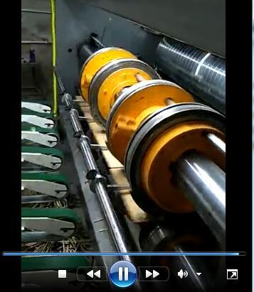 为荣纸箱印刷开槽机-前缘送纸自动链条印刷开槽机