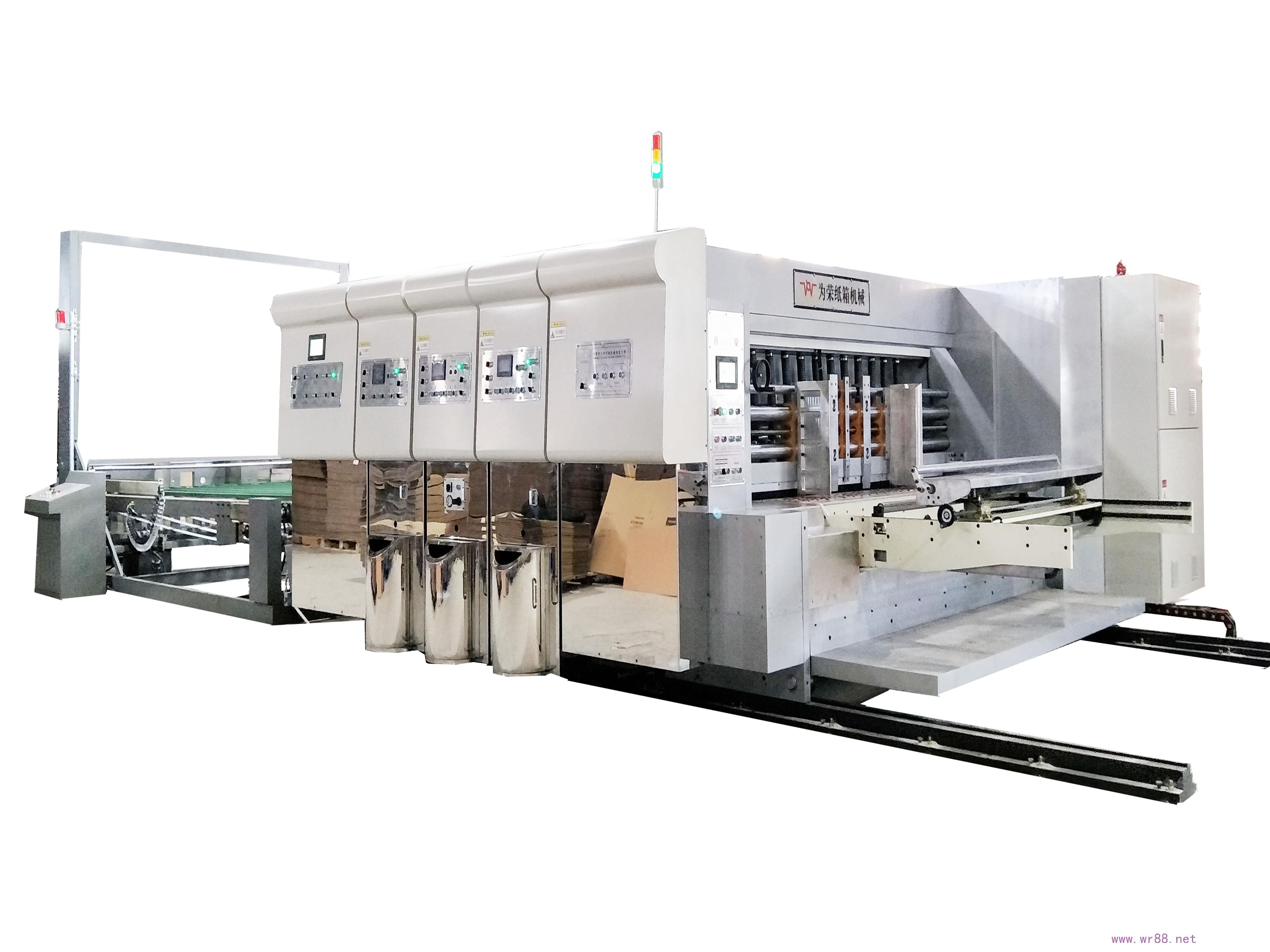 G2C-1428 全电脑水性印刷开槽模切机生产视频